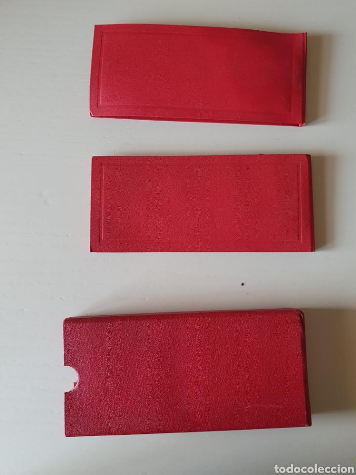 Antigüedades: Antiguos estuches de agujas de coser antiguas manuales y para maquina - Foto 5 - 265807669