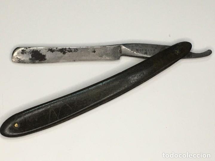NAVAJA DE AFEITAR HOFMANN (Antigüedades - Técnicas - Barbería - Navajas Antiguas)