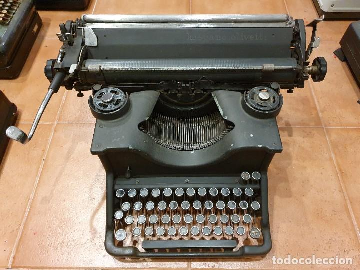 MÁQUINA DE ESCRIBIR OLIVETTI HO FUNCIONANDO (Antigüedades - Técnicas - Máquinas de Escribir Antiguas - Olivetti)