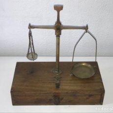 Antigüedades: BALANZA ANTIGUA. Lote 266000923