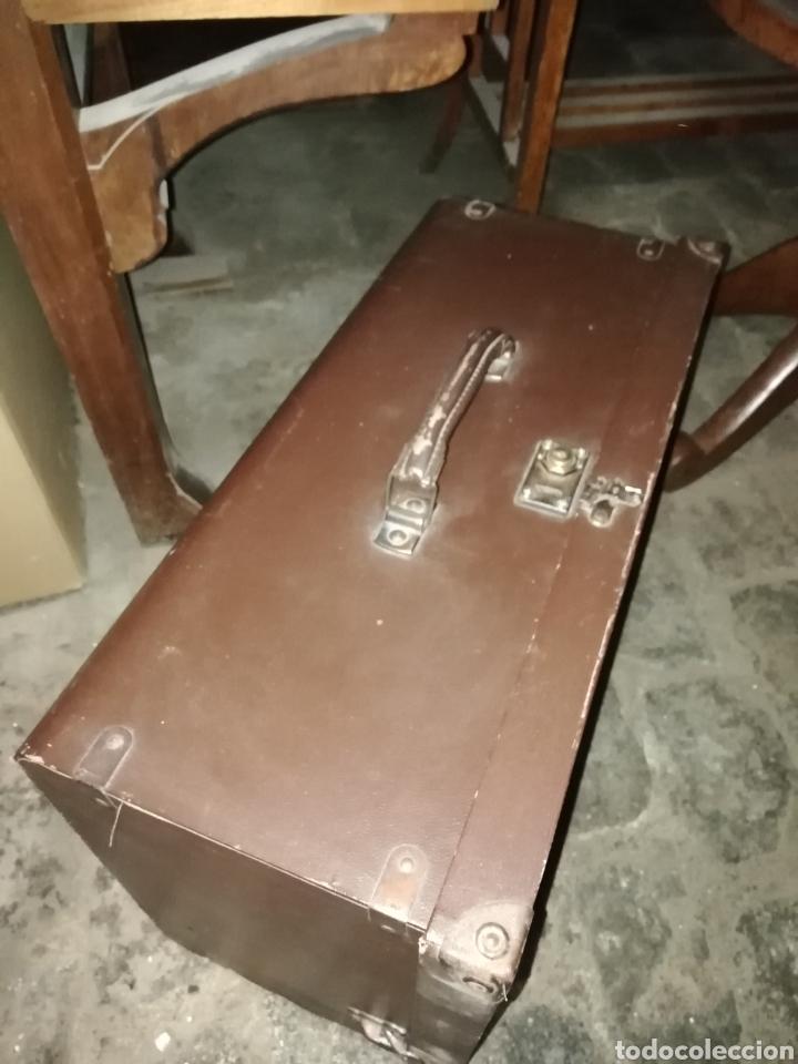 Antigüedades: Máquina de coser Singer de Maleta - Foto 3 - 266050158