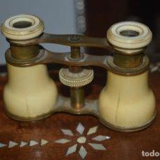 Antigüedades: TOMA VISTA PRISMÁTICO ANTIGUOS DE MARFIL SIGLO XIX. Lote 266070488