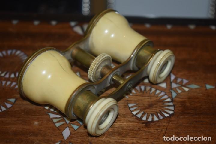 Antigüedades: TOMA VISTA PRISMÁTICO ANTIGUOS DE MARFIL SIGLO XIX - Foto 2 - 266070488