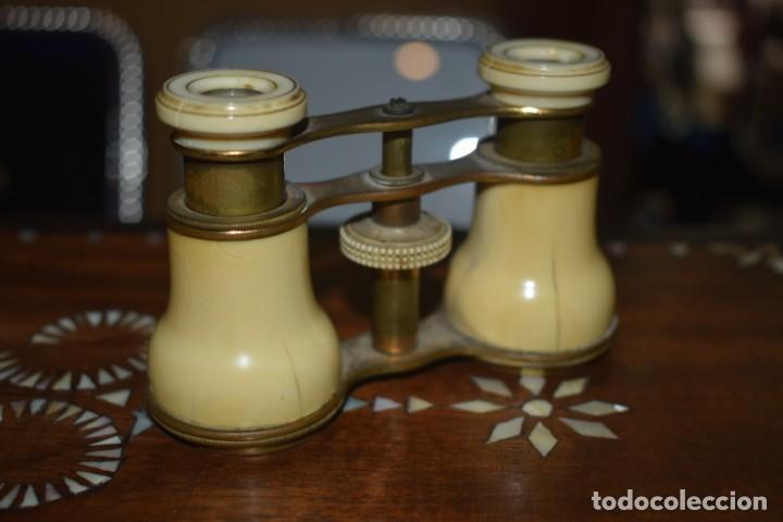 Antigüedades: TOMA VISTA PRISMÁTICO ANTIGUOS DE MARFIL SIGLO XIX - Foto 3 - 266070488