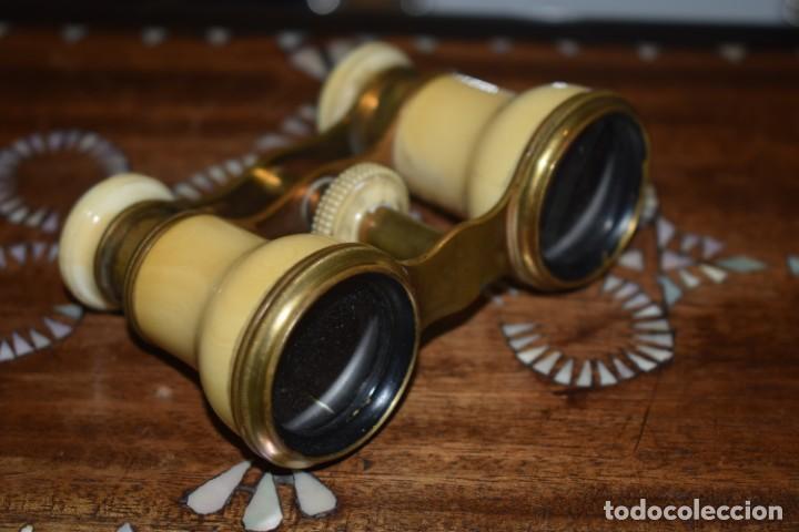 Antigüedades: TOMA VISTA PRISMÁTICO ANTIGUOS DE MARFIL SIGLO XIX - Foto 5 - 266070488