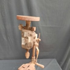 Antiquités: ANTIGUO TALADRO INDUSTRIAL MANUAL. Lote 266201898