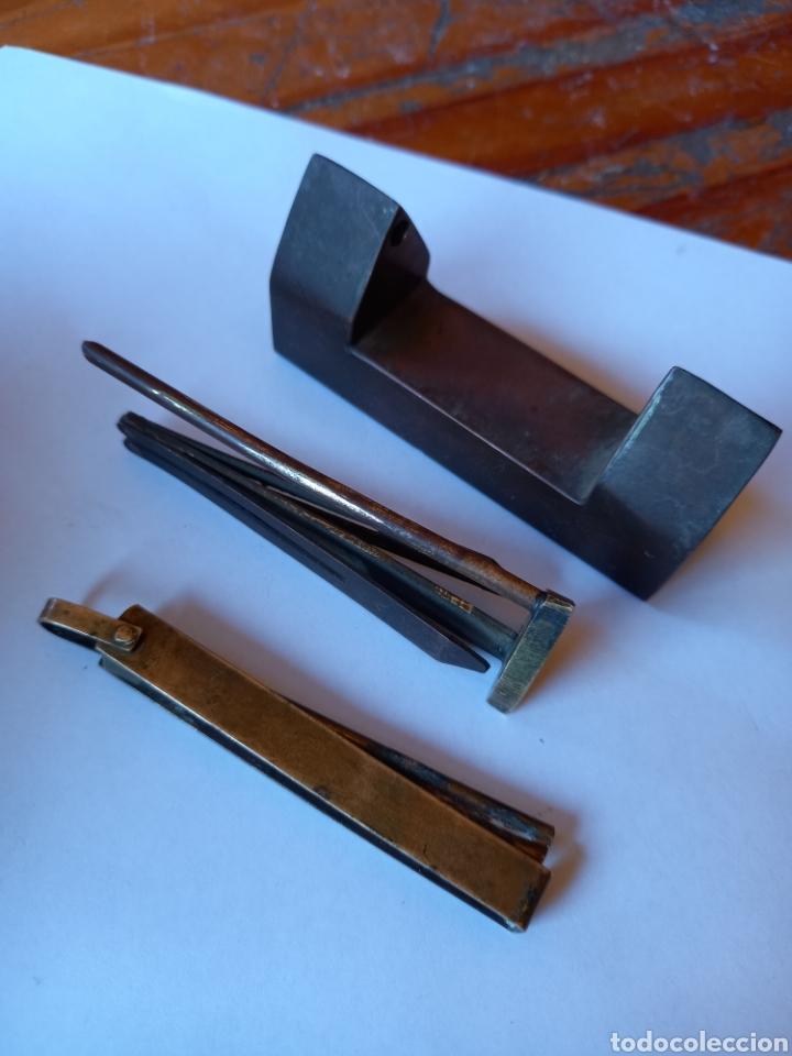 ANTIGUO CANDADO A MODIFICAR (Antigüedades - Técnicas - Cerrajería y Forja - Candados Antiguos)