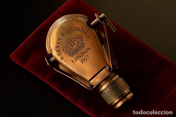 MONÓCULO DE LA FIRMA KELVIN & HUGHES. AÑO 1917. LONDRES. (Antigüedades - Técnicas - Otros Instrumentos Ópticos Antiguos)