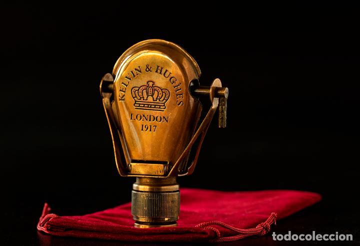 Antigüedades: Monóculo de la firma Kelvin & Hughes. Año 1917. Londres. - Foto 2 - 266505638