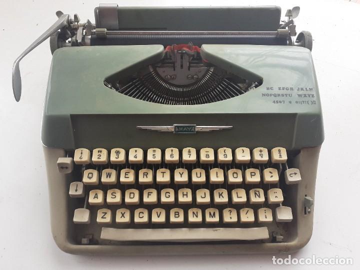 MAQUINA ESCRIBIR AMAYA (Antigüedades - Técnicas - Máquinas de Escribir Antiguas - Otras)