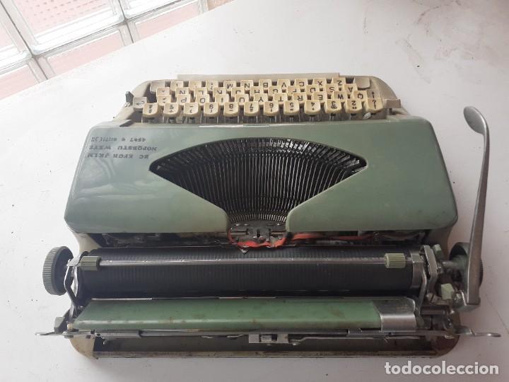 Antigüedades: Maquina escribir Amaya - Foto 3 - 266519818