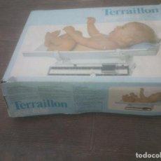 Antigüedades: ANTIGUO PESO BALANZA TERRAILLON PESA BEBES.. Lote 266654618