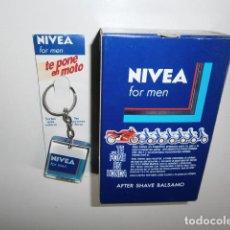 Antigüedades: NIVEA FOR MEN BALSAMO + LLAVERO. Lote 266870229
