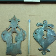 Antigüedades: 2 BOCA LLAVES SIGLO XIX.. Lote 266944899