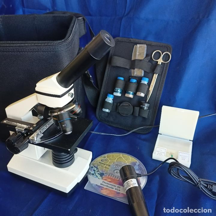 MICROSCOPIO BRESSER BIOLUX AL (Antigüedades - Técnicas - Instrumentos Ópticos - Microscopios Antiguos)