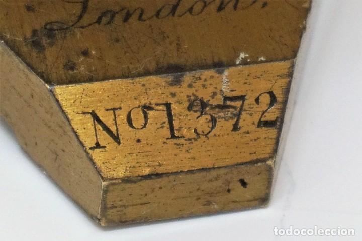Antigüedades: ANTIGUO MICROSCOPIO INGLÉS PILLISCHER c.1860 - Foto 3 - 267165789