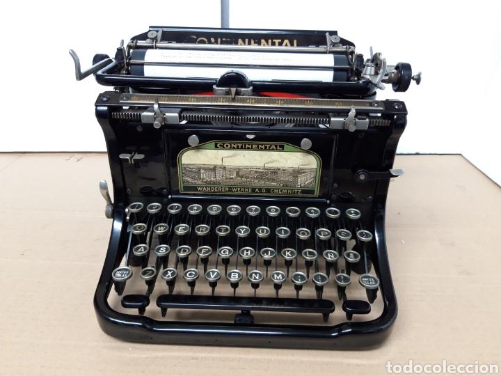 MAQUINA DE ESCRIBIR CONTINENTAL (Antigüedades - Técnicas - Máquinas de Escribir Antiguas - Continental)