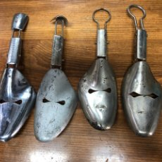 Antiquités: HORMAS DE ZAPATOS DE METAL. Lote 267201539