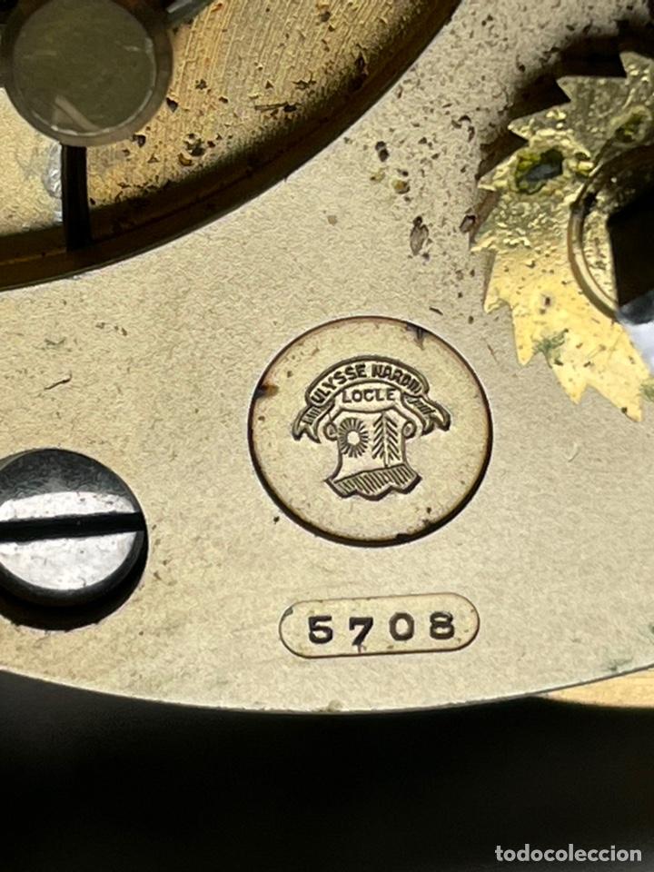 Antigüedades: Reloj nautico o cronometro marino marca ULYSSE NARDIN - Foto 10 - 127953623