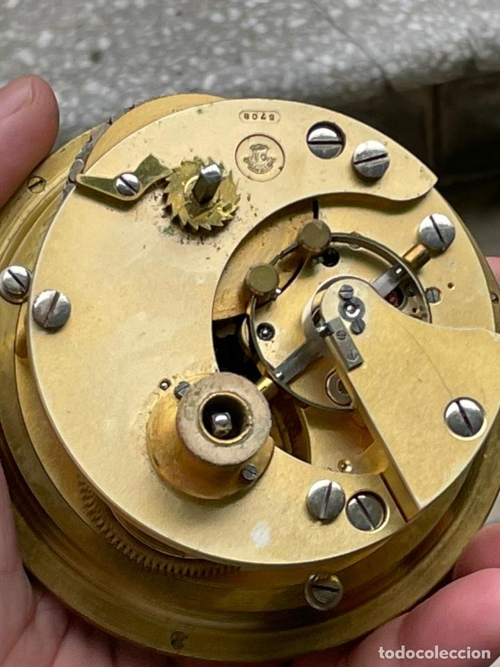 Antigüedades: Reloj nautico o cronometro marino marca ULYSSE NARDIN - Foto 11 - 127953623
