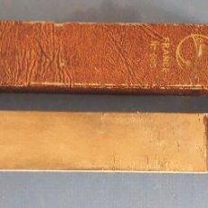 Antigüedades: SUAVIZADOR DE DOBLE CARA, PARA NAVAJA DE AFEITAR, GRELOT FRANCE Nº203, 32CM APROX. Lote 267593889