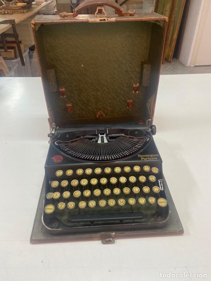 MÁQUINA DE ESCRIBIR REMINGTON PORTABLE (Antigüedades - Técnicas - Máquinas de Escribir Antiguas - Remington)