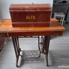 Antigüedades: MAQUINA DE COSER ALFA. Lote 267679739