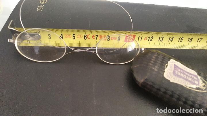 Antigüedades: Gafas antiguas funda original siglo xix buena conservacion - Foto 4 - 191839812