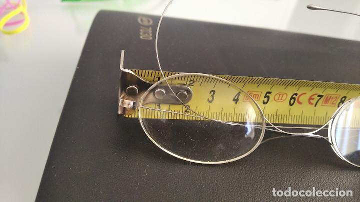 Antigüedades: Gafas antiguas funda original siglo xix buena conservacion - Foto 5 - 191839812