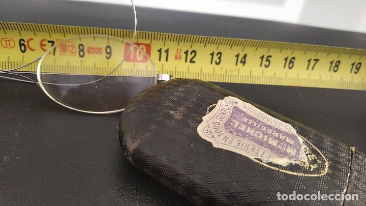 Antigüedades: Gafas antiguas funda original siglo xix buena conservacion - Foto 6 - 191839812
