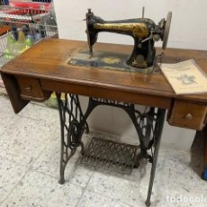 Antigüedades: MÁQUINA DE COSER SINGER 15K (BOBINA CENTRAL) - 1906. Lote 267792674