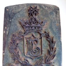 Antigüedades: TAMPÓN - SELLO - MADERA Y METAL - CLASE SUPERIOR. Lote 267795364