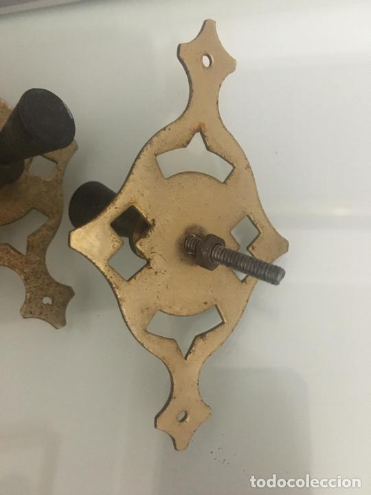 Antigüedades: tiradores mueble, cuatro - Foto 3 - 267805304