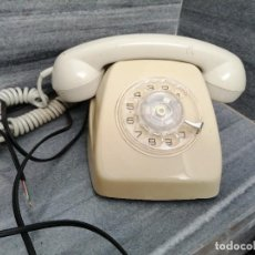Teléfonos: TELÉFONO DE RULETA CTNE ELASA COLOR GRIS CITESA MALAGA. Lote 267805559