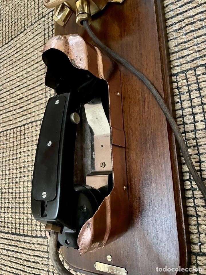 Antigüedades: ANTIGUO TELÉFONO DE BARCO , DEL AÑO 1940-50 - Foto 12 - 267815499