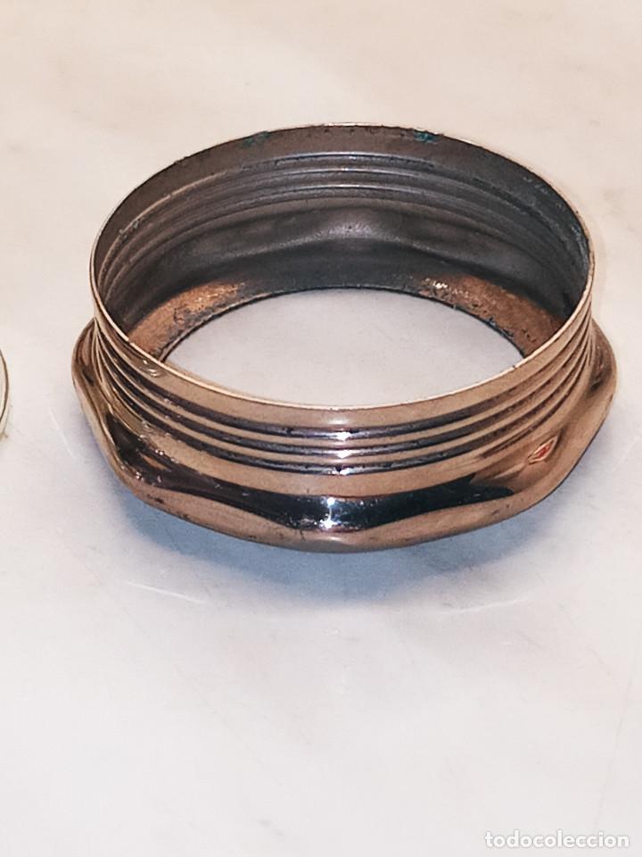 Antigüedades: LINERNA BOND ELECTRIC CORP. MADE IN U.S.A. ORIGINAL. 18 CTMS. FUNCIONANDO. CRISTAL LUPA MACIZO. FOTO - Foto 12 - 267883464