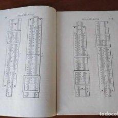 Antigüedades: REGLA DE CALCULO MANEJO Y APLICACIONES - CUESTIONARIO DE EXAMEN 1ª EDICION ESCUELAS INTERNACIONALES. Lote 268133924