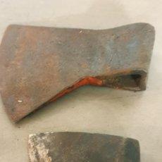 Antigüedades: LOTE DE 2 ANTIGUAS HACHAS. Lote 268165179