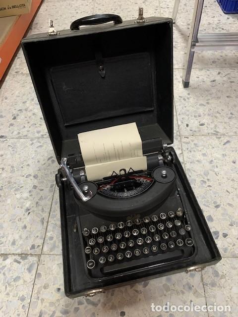 MÁQUINA DE ESCRIBIR REMINGTON RAND - NOISELESS PATENT 1923 (Antigüedades - Técnicas - Máquinas de Escribir Antiguas - Remington)