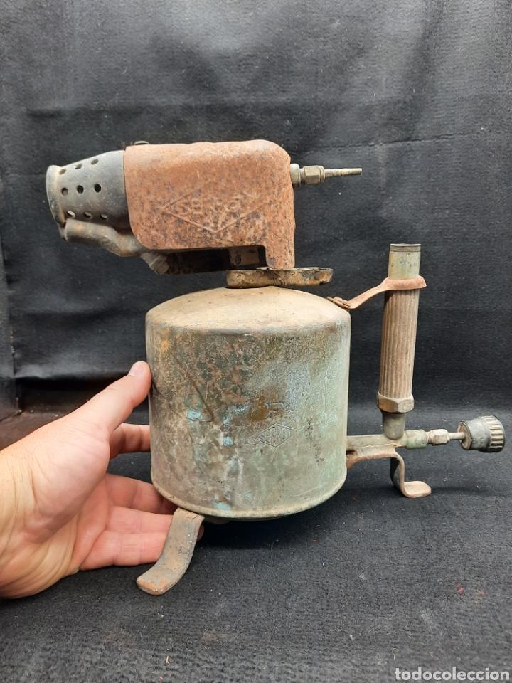 ENORME SOPLETE DE GASOLINA (Antigüedades - Técnicas - Varios)