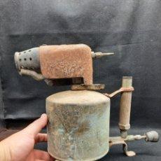 Antigüedades: ENORME SOPLETE DE GASOLINA. Lote 268398239