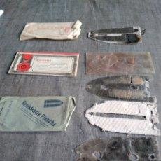 Antigüedades: LOTE RESISTENCIAS PLANCHA. Lote 268480129