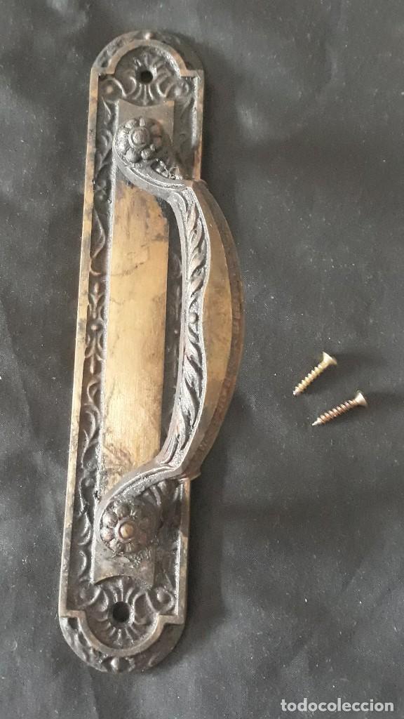 ASA PARA PUERTAS DE PASO (Antigüedades - Técnicas - Cerrajería y Forja - Tiradores Antiguos)