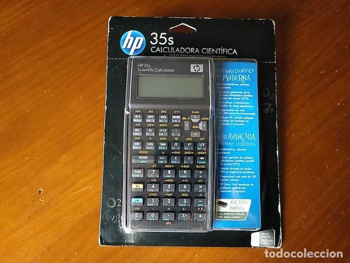 HP 35S RPN CALCULADORA CIENTÍFICA HEWLETT PACKARD HP-35S PROGRAMABLE EN BLISTER SIN ABRIR SCIENTIFIC (Antigüedades - Técnicas - Aparatos de Cálculo - Calculadoras Antiguas)