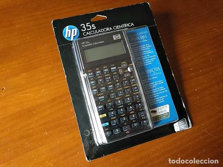 Antigüedades: HP 35S RPN CALCULADORA CIENTÍFICA HEWLETT PACKARD HP-35S PROGRAMABLE EN BLISTER SIN ABRIR SCIENTIFIC - Foto 18 - 268752579