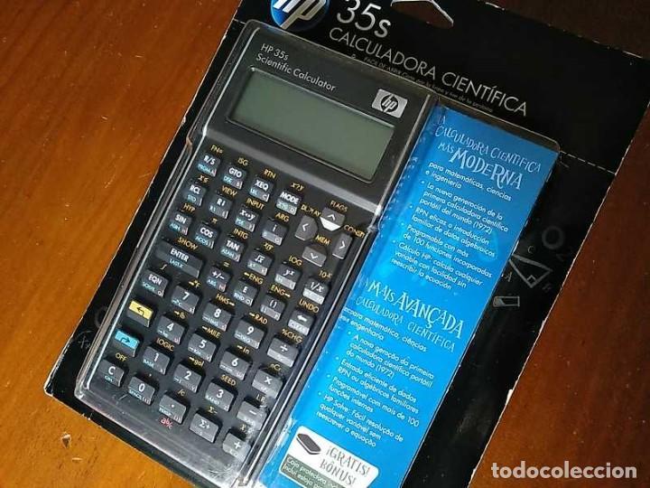 Antigüedades: HP 35S RPN CALCULADORA CIENTÍFICA HEWLETT PACKARD HP-35S PROGRAMABLE EN BLISTER SIN ABRIR SCIENTIFIC - Foto 29 - 268752579