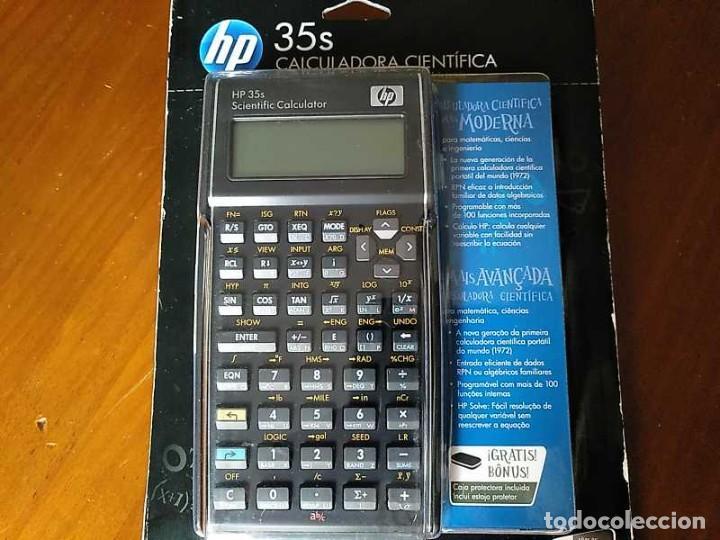 Antigüedades: HP 35S RPN CALCULADORA CIENTÍFICA HEWLETT PACKARD HP-35S PROGRAMABLE EN BLISTER SIN ABRIR SCIENTIFIC - Foto 30 - 268752579
