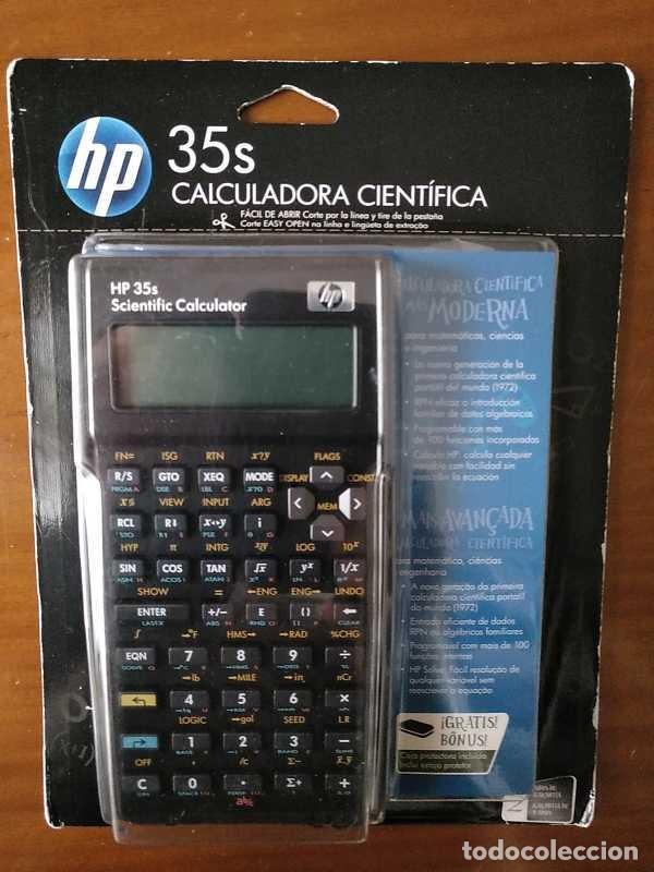 Antigüedades: HP 35S RPN CALCULADORA CIENTÍFICA HEWLETT PACKARD HP-35S PROGRAMABLE EN BLISTER SIN ABRIR SCIENTIFIC - Foto 34 - 268752579