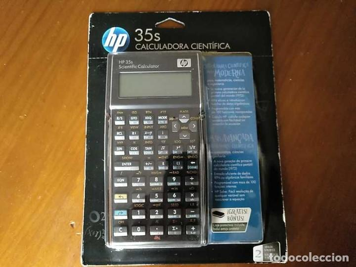 Antigüedades: HP 35S RPN CALCULADORA CIENTÍFICA HEWLETT PACKARD HP-35S PROGRAMABLE EN BLISTER SIN ABRIR SCIENTIFIC - Foto 36 - 268752579