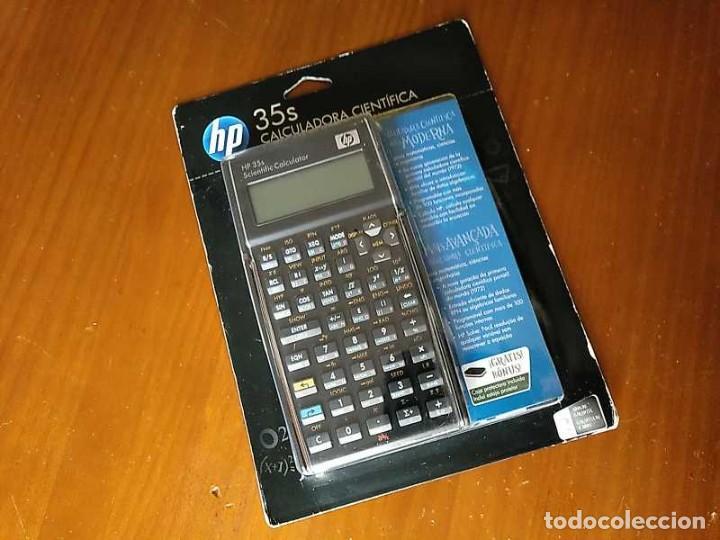 Antigüedades: HP 35S RPN CALCULADORA CIENTÍFICA HEWLETT PACKARD HP-35S PROGRAMABLE EN BLISTER SIN ABRIR SCIENTIFIC - Foto 43 - 268752579